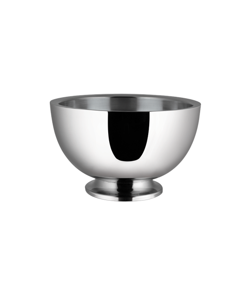 Dobbelt Mirror Steel Insulated 3200 ml Revere Pedestal Bowl
