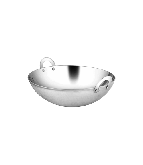 Basic Hammered Steel 4500 ml Wok