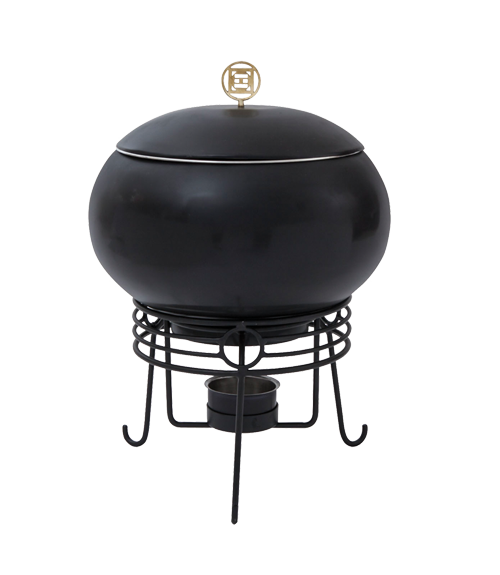 China Town Titanium Finish 4 Ltr Chafing Dish