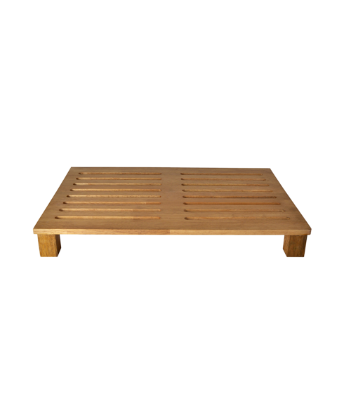 Modular Wooden Bread Cutting Board for GN 1by1 Buffet Tray