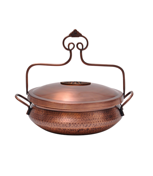 Handi Chafer Hammered Burnt Copper Finish 4.4 Ltr.