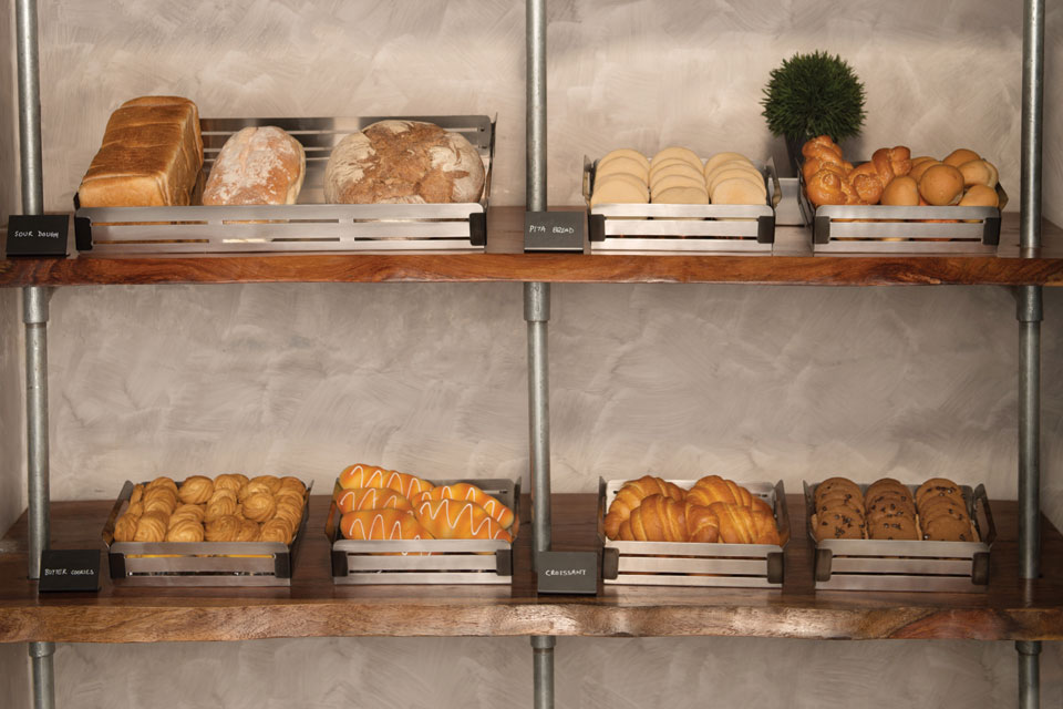 Crate Bread Display