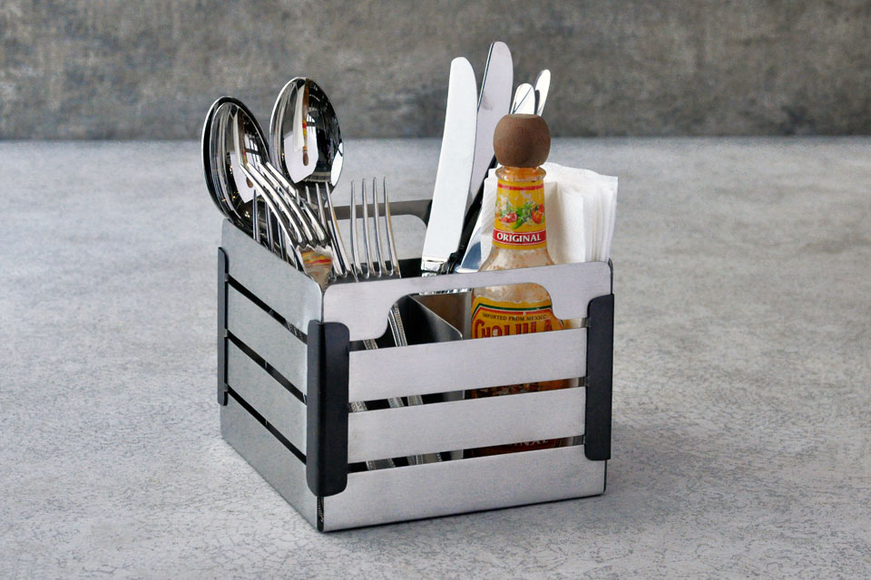 Crate Cutlery Caddy