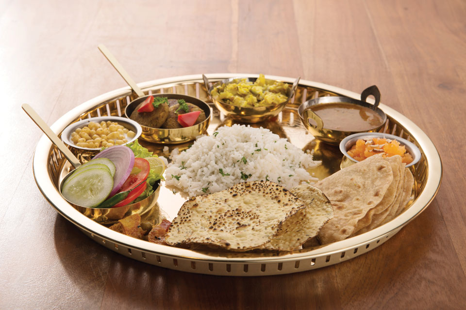 Golden Thali