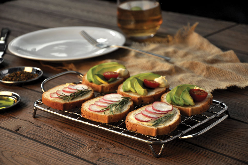Grill Rack Snack Server