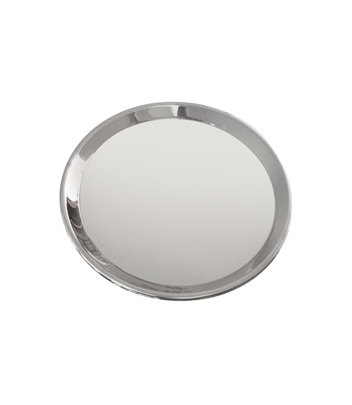 Mirror Steel 8 D in Lid for Masala Handi