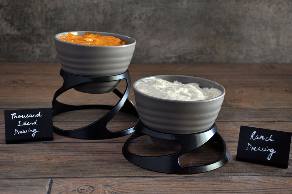 Melamine Display Bowls