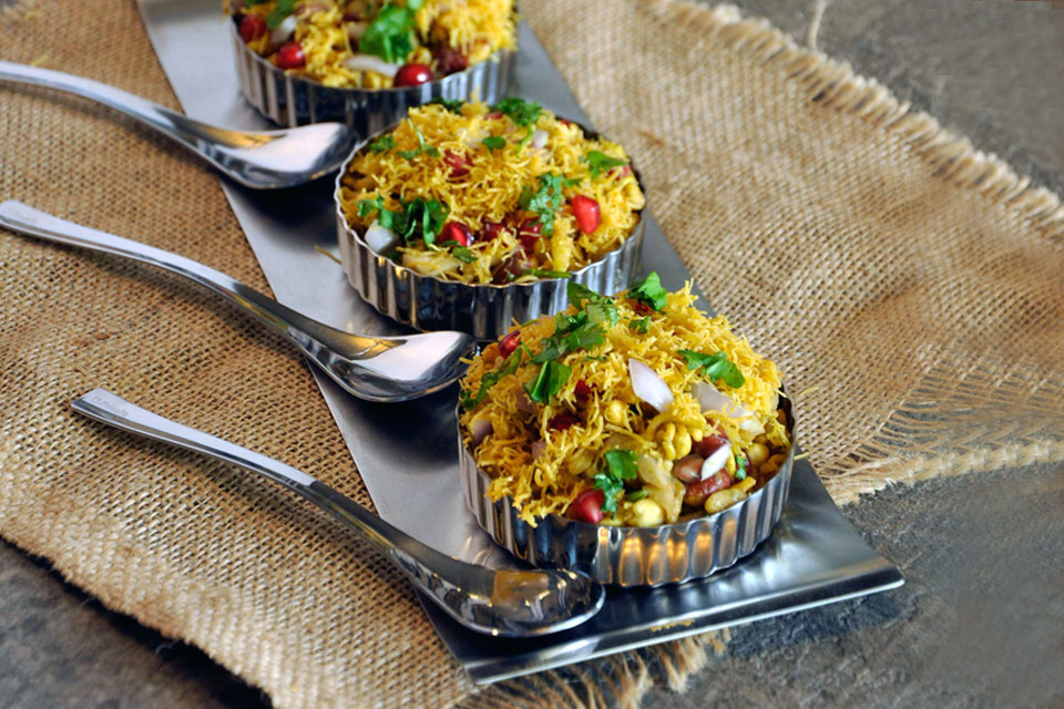 Mini Chaat Dishes