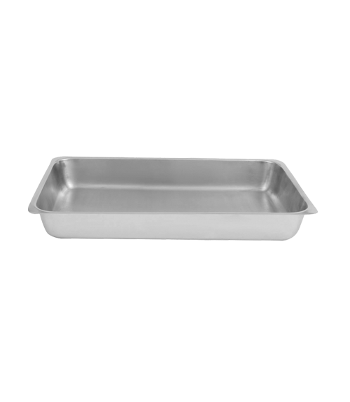 Mirror Steel 10 Ltr Food Pan for GN 1by1 Chafing Dish
