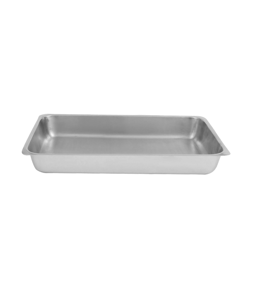 Mirror Steel 12 Ltr Food Pan for GN 1by1 Chafing Dish