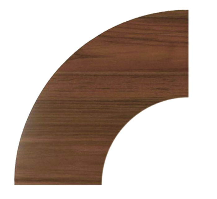 Modular Wood Board Curved Platform
