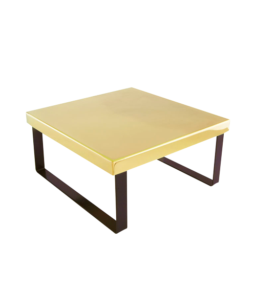 China Town Gold Finish 12x12x8 in Riser