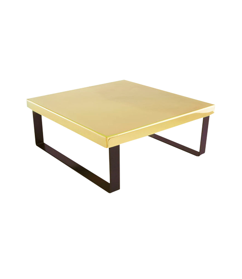 China Town Gold Finish 15x15x6 in Riser