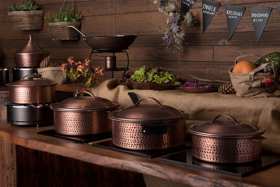 Rustic Induction Buffet