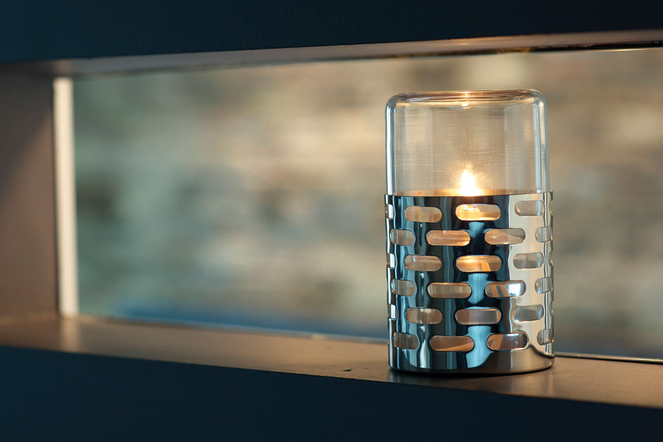 Sharp Candle Holder