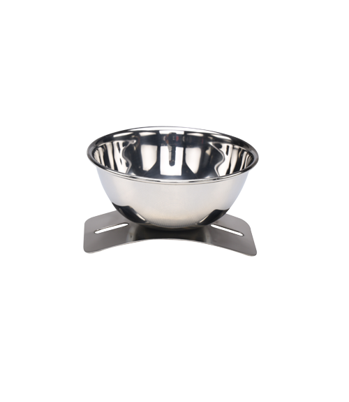 Sharp Mirror Steel Finger Bowl and Liner
