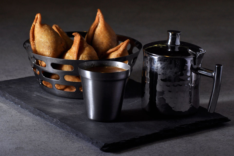 Snack Bowl On Slate