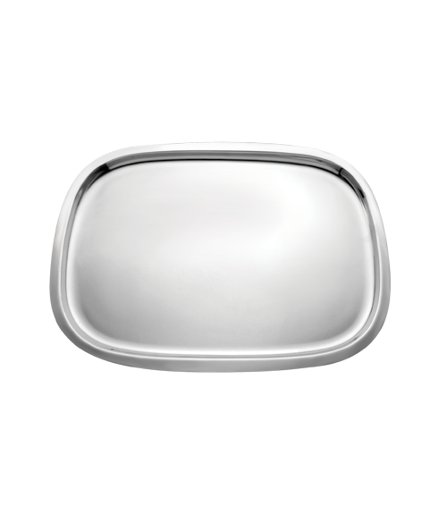Basic Mirror Steel Rectangle Tray