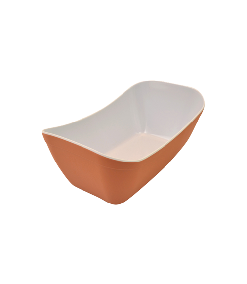 Terracotta White Matt Melamine 1by4 Verdura Crock