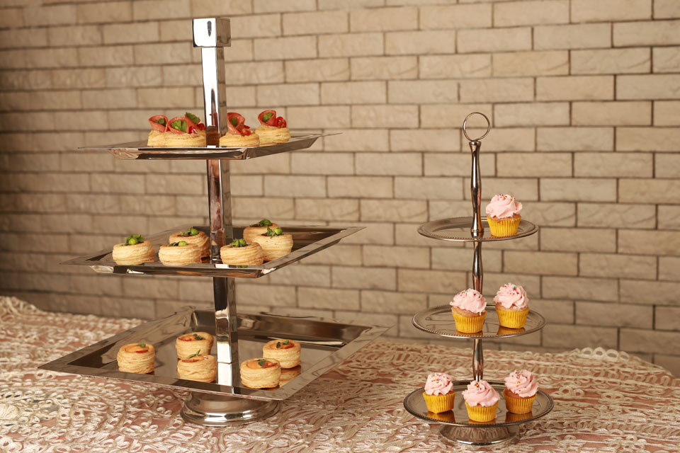 Tiered Serving Stands